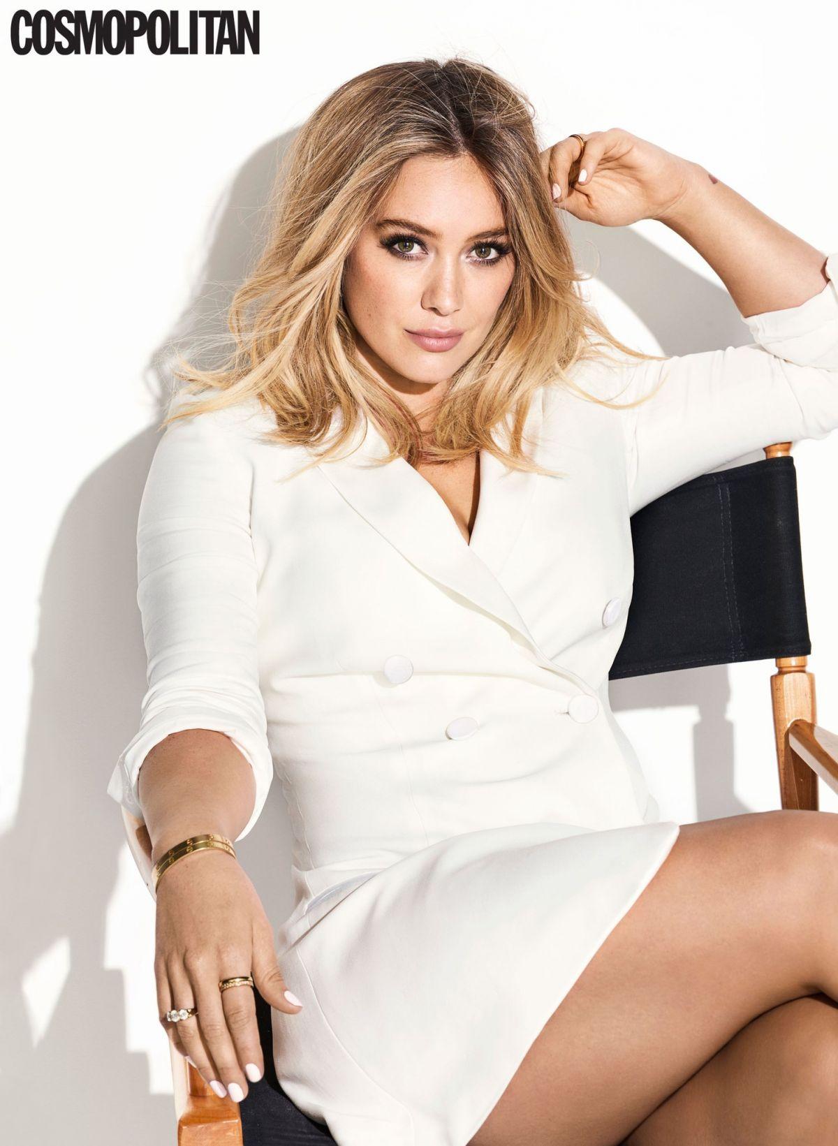 HILARY DUFF in Cosmopolitan Magazine, February 2017 Issue ... Hilary Duff