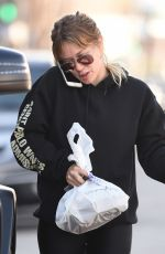 HILARY DUFF Out and About in Los Angeles 01/18/2017
