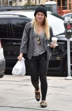 HILARY DUFF Out and About in Studio City 01/04/2017