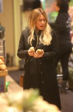 HILARY DUFF Out for Grocery Shopping in Beverly Hills 01/22/2017
