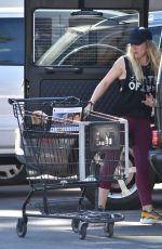 HILARY DUFF Out for Shopping in Studio City 01/17/2017