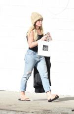 HILARY DUFF Out Shopping in Studio City 01/06/2017