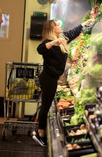 HILARY DUFF Shopping at Whole Foods in Studio City 01/05/2017