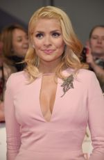HOLLY WILLOUGHBY at National Television Awards in London 01/25/2017
