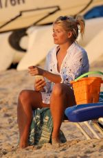 HOLLY WILLOUGHBY on the Beach in Barbados 01/07/2017