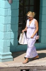 HOLLY WILLOUGHBY Out Shopping in Barbados 01/02/2017
