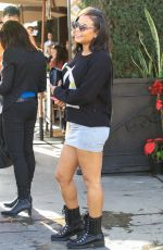 CHRISTINA MILIAN at Il Pastaio Restaurant in Beverly Hills 01/11/2017