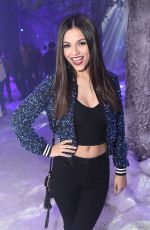 VICTORIA JUSTICE at Sony Lost in Music Party 01/13/2017