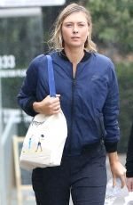MARIA SHARAPOVA Out and About in Los Angeles 01/10/2017