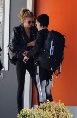 KRISTEN STEWART and STELLA MAXWELL Out and About in Hollywood 01/28/2017
