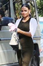 CHRISTINA MILIAN Out Shopping in West Hollywood 01/25/2017