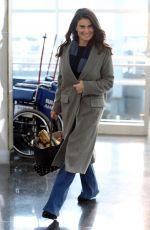 IDINA MENZEL at JFK Airport in New York 01/19/2017