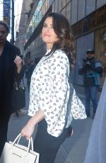 IDINA MENZEL Leaves Today Show in New York 01/19/2017
