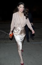 IDINA MENZEL Out for Dinner in West Hollywood 01/13/2017