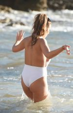 IMOGEN TOWNLEY in Swimsuit at a Beach in Spain 01/13/2017