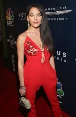 INBAR LAVI at Universal, NBC, Focus Features and E! Golden Globes Party in Beverly Hills 01/08/2017