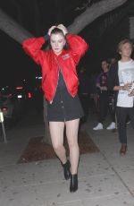 IRELAND BALDWIN Leaves Peppermint Club in West Hollywood 01/14/2017