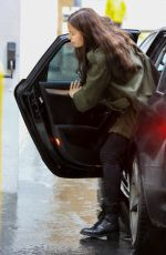 IRINA SHAYK Arrives at a Doctor