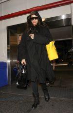 IRINA SHAYK at LAX Airport in Los Angeles 01/19/2017