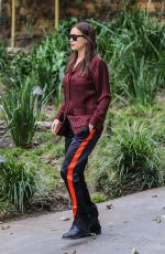 IRINA SHAYK Out and About in Los Angeles 01/04/2017