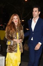 ISLA FISHER Night Out in Los Angeles 01/05/2017