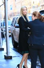 IVANKA TRUMP Leaves Her Apartment in New York 01/11/2017