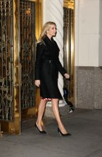 IVANKA TRUMP Out and About in New York 01/16/2017