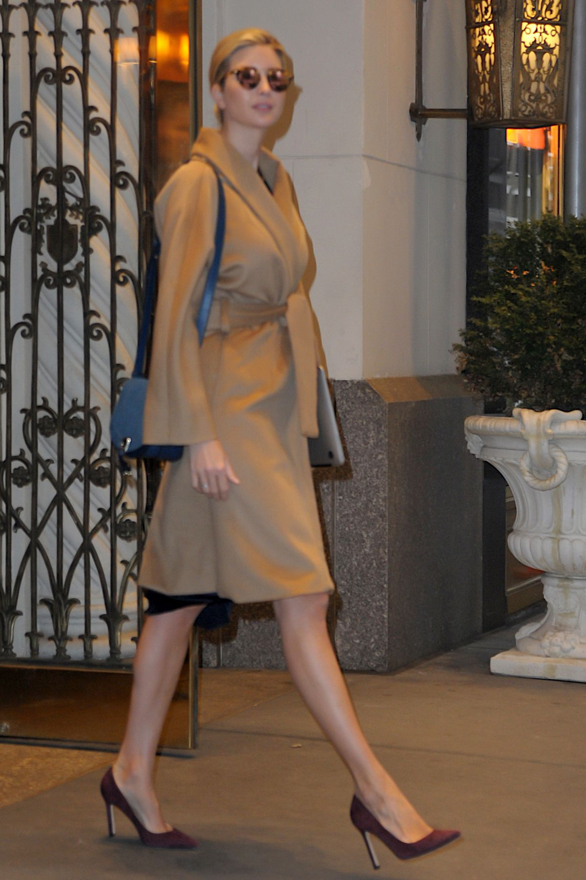 IVANKA TRUMP Out in New York 01/17/2017
