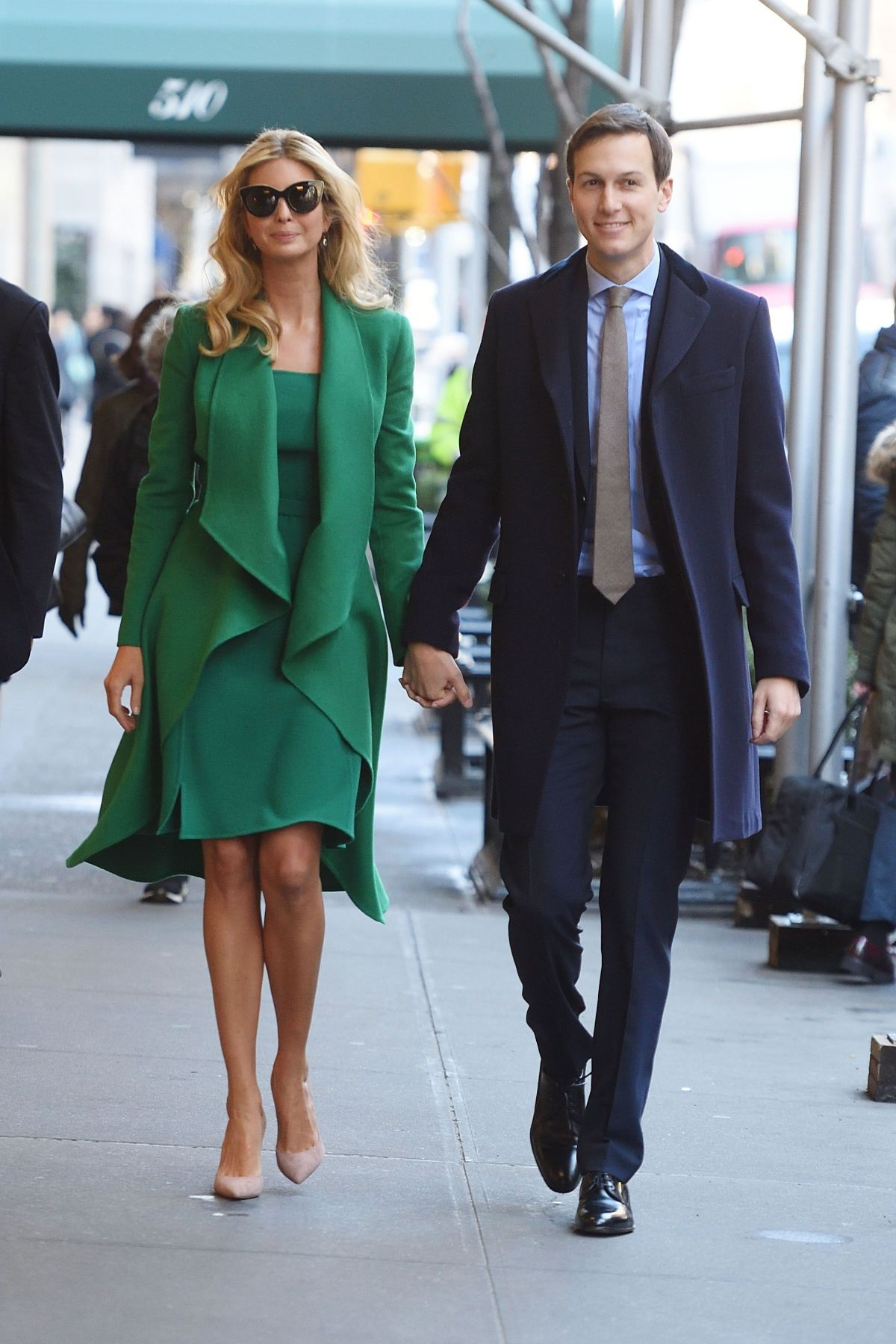 IVANKA TRUMP out with Her Husband JaredKushner in New York 01/19/2017