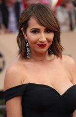 JACKIE CRUZ at 23rd Annual Screen Actors Guild Awards in Los Angeles 01/29/2017