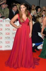 JACQUELINE JOSSA at National Television Awards in London 01/25/2017