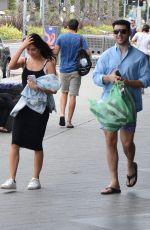 JACQUELINE MACINNES WOOD Out with Her Boyfriend in Bondi Beach 12/22/2016