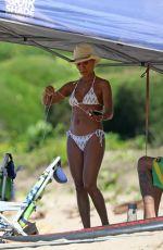 JADA PINKETT SMITH in Bikini at a Beach in Hawaii 01/03/2017