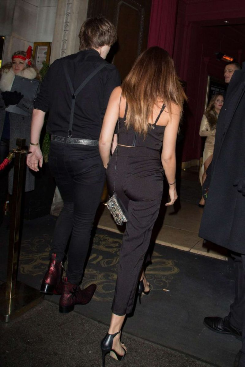 JADE THIRLWALL at New Year Celebrations in :ondon 01/01/2017