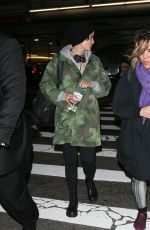 JAIMIE ALEXANDER at LAX Aiport in Los Angeles 01/18/2017