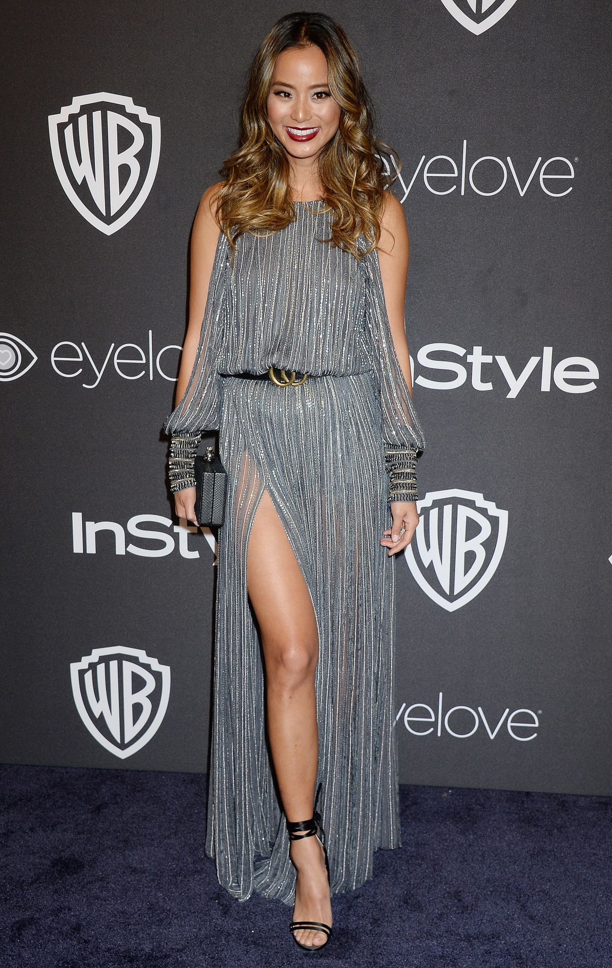 JAMIE CHUNG at Warner Bros. Pictures & Instyle's 18th Annual Golden Globes Party in Beverly Hills 01/08/2017