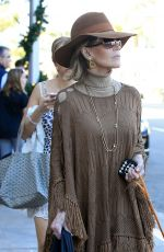 JANE FONDA Out with Her Dog in Beverly Hills 12/29/2016
