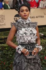 JANELLE MONAE at 23rd Annual Screen Actors Guild Awards in Los Angeles 01/29/2017