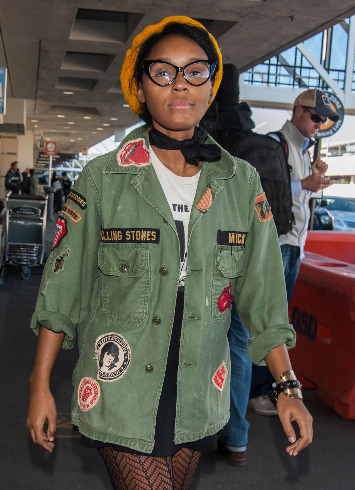 JANELLE MONAE at Los Angeles International Airport 01/28/2017