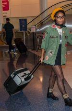 JANELLE MONAE at Los Angeles International Airport 01/28/2017