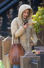 JEMIMA KIRKE at Her Home in New York 01/16/2017