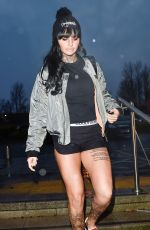 JEMMA LUCY Out and About in Telford 01/29/2017