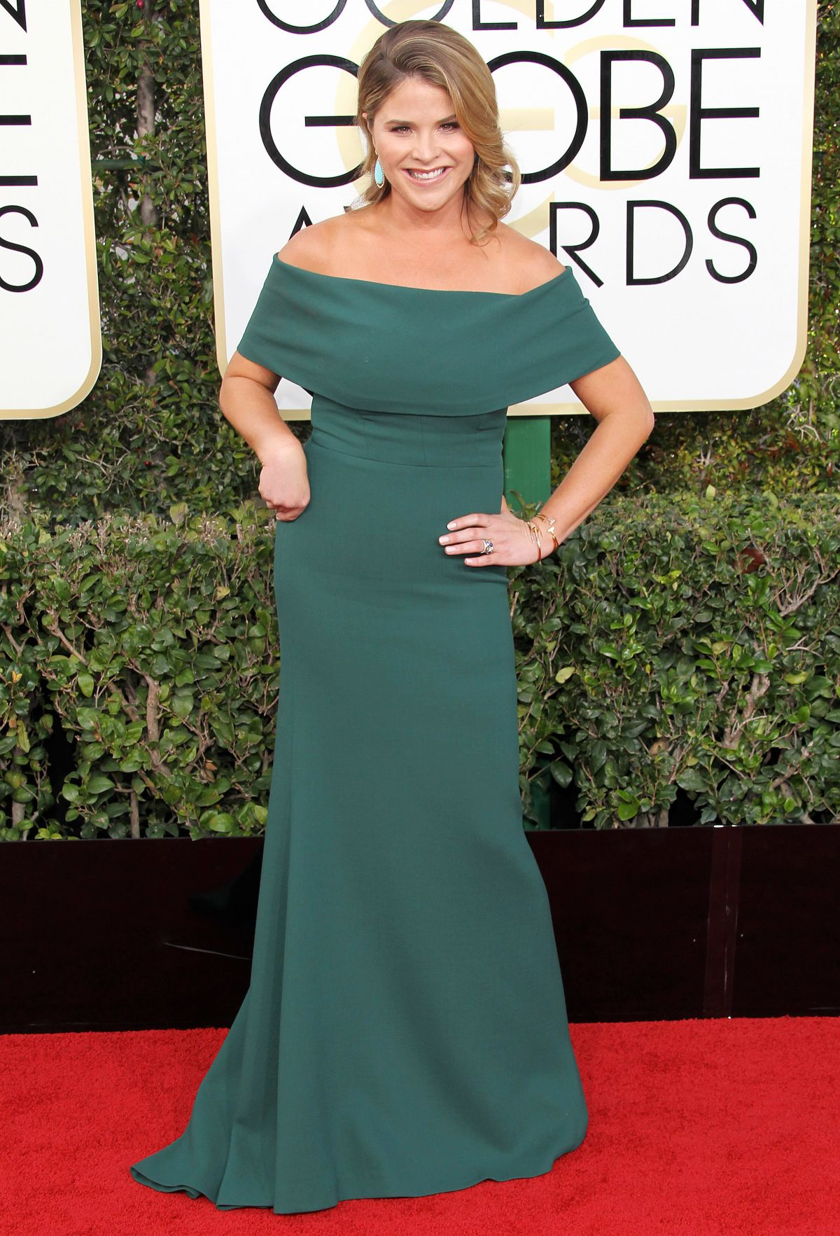 JENNA BUSH HAGER at 74th Annual Golden Globe Awards in Beverly Hills 01/08/2017