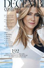 JENNIFER ANISTON in Marie Claire Magazine, December 2106 Issue