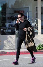 JENNIFER GARNER After Her Workout in Los Angeles 01/17/2017