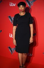 JENNIFER HUDSON at Voice UK Press Launch at Millbank Tower in London 01/04/2017