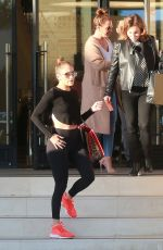 JENNIFER LOPEZ and LEAH REMINI Shopping at Barneys New York in Beverly Hills 01/06/2017