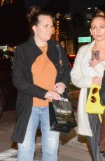 JENNIFER LOPEZ Night Out with Friends in West Hollywood 12/28/2016
