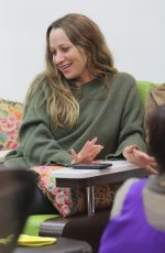 JENNIFER MEYER at a Nail Salon in Beverly Hills 01/02/2017