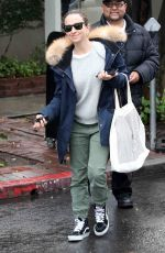 JENNIFER MEYER Out on a Rainy Day in Beverly Hills 01/12/2017